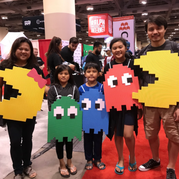 Dinosaurs, Pirates, Jedis and Wizards Take Over the Family Zone at Toronto Comicon 2019