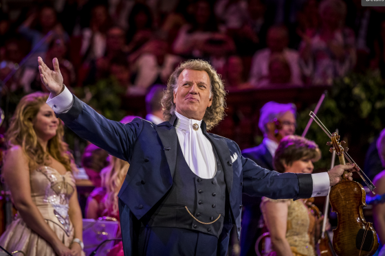 André Rieu Waltzes into Theatres Across Canada in His 2019 Maastricht Concert: Shall We Dance?