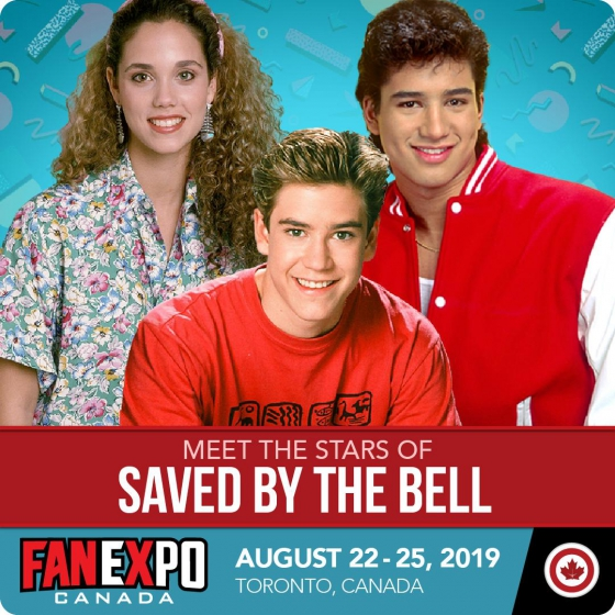 FAN EXPO Canada Reunites the Cast of Saved By the Bell, The Goonies and Blade Runner