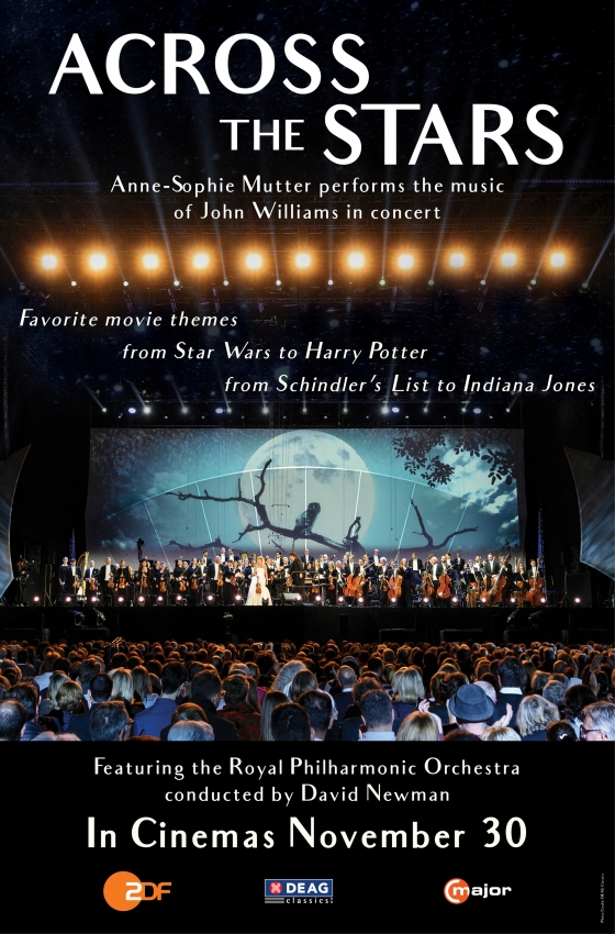 Cineplex Events Presents John Williams Tribute Concert 'Across the Stars'