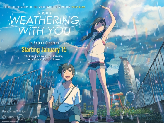 Makoto Shinkai's 'Weathering With You' Comes to Cineplex Theatres Across Canada