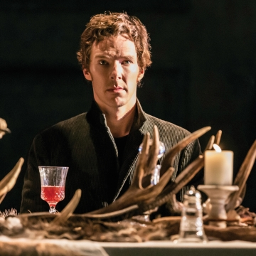 Cineplex Entertainment Live Broadcasting Benedict Cumberbatch in National Theatre's Production of Hamlet