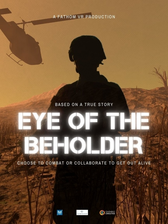 NEW VR EXPERIENCE EYE OF THE BEHOLDER BASED ON OSCAR-SHORTLISTED DOCUMENTARY MADE AVAILABLE ON STEAM ON DECEMBER 1st