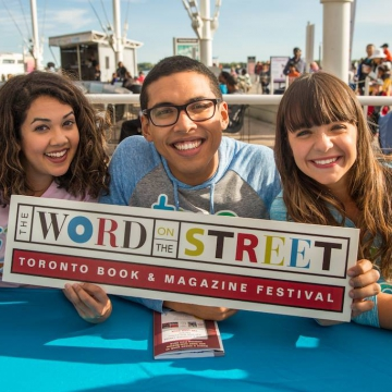 THE WORD ON THE STREET BEGINS A NEW CHAPTER THIS FALL WITH STORIES FROM RENOWNED CANADIAN AUTHORS