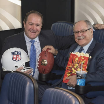 Cineplex Quarterbacks Exclusive Canadian Sponsorship to  Bring the NFL to the Big Screen