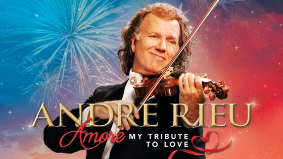 André Rieu's 2018 Maastricht Concert, Amore: My Tribute to Love Comes to Cineplex Theatres Across Canada